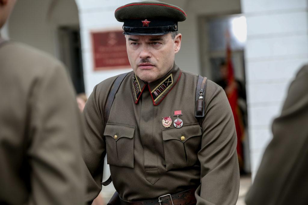 Евгений Дятлов в роли полковника Стрельбицкого